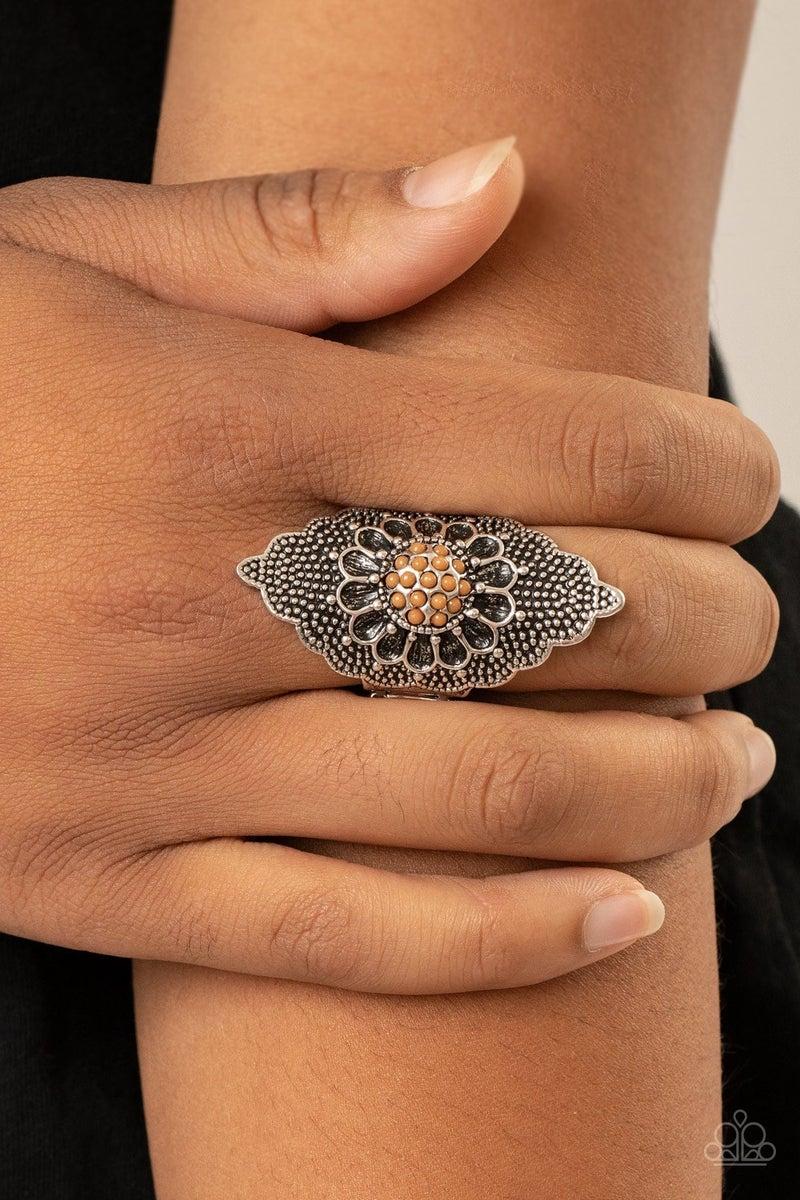 Wildly Wallflower - Brown Ring