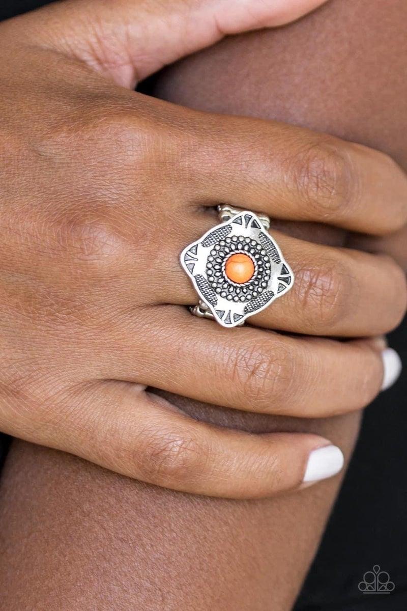 Four Corners Fashion - Orange Ring