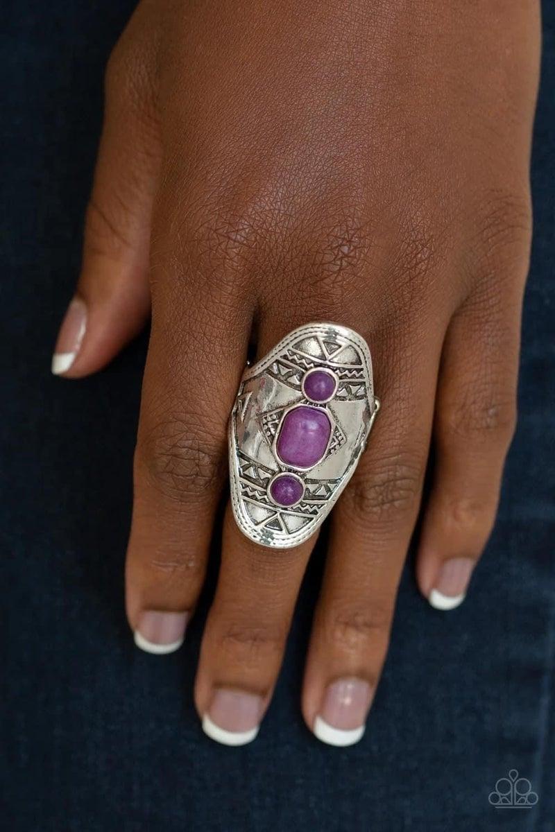 Desert Paint - Purple Ring