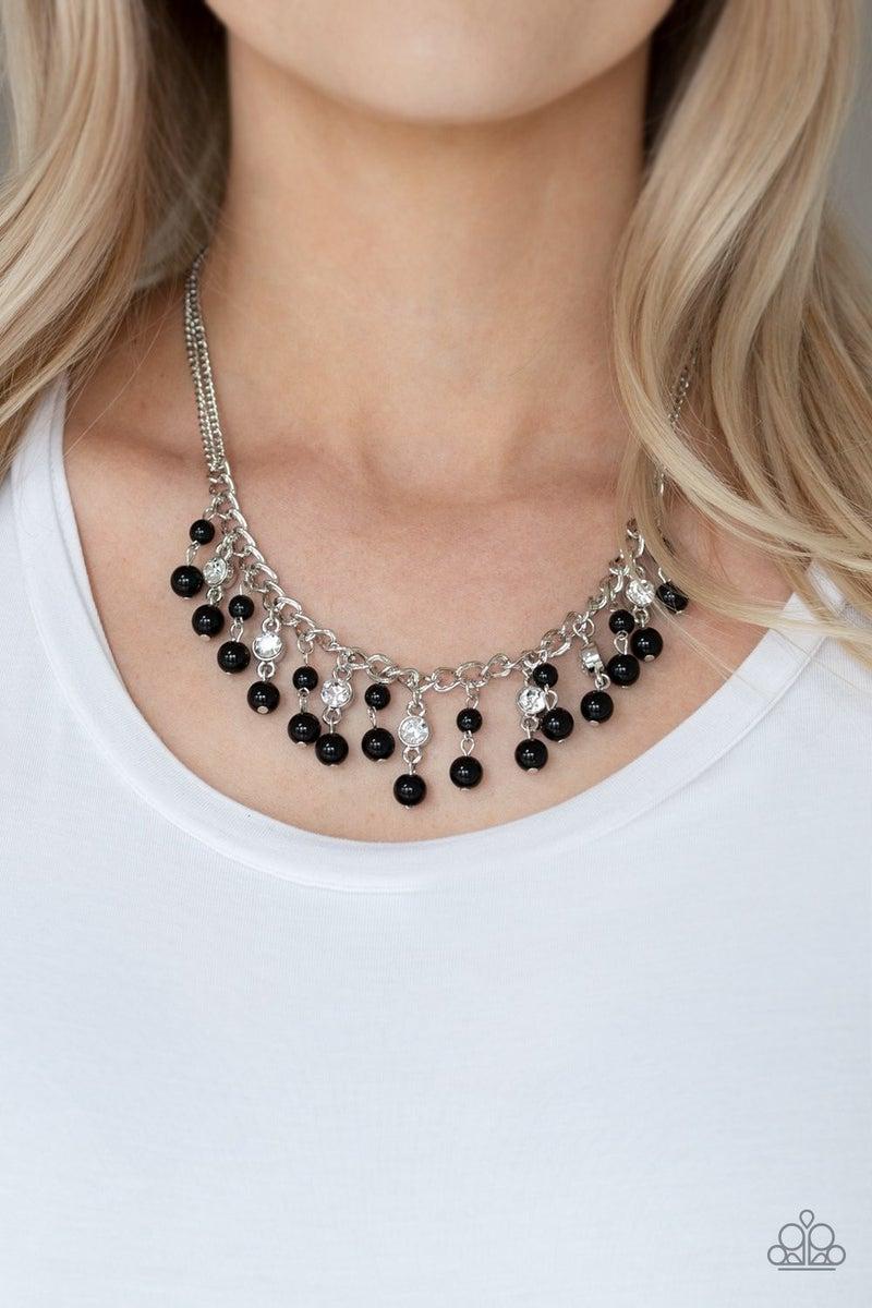 Regal Refinement - Black Necklace