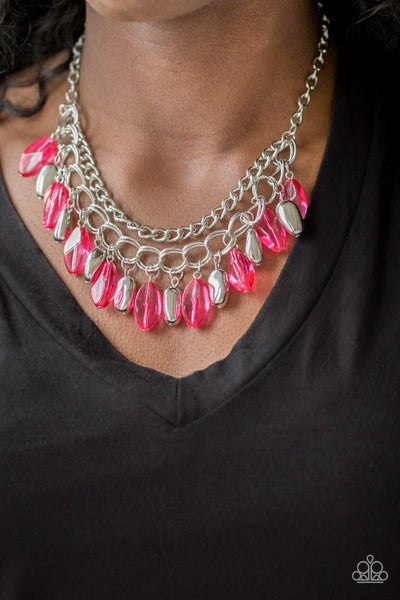 Spring Daydream - Pink Necklace