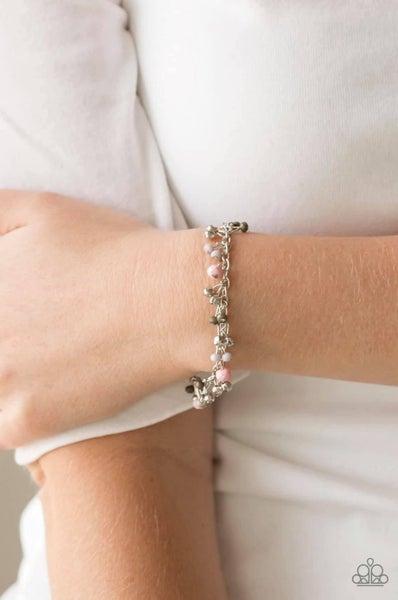 Aquatic Adventure - Multi/Pink Clasp Bracelet