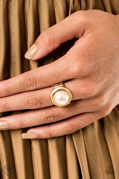 Prim and PROSPER - Gold Ring - October 2020 Fashion Fix