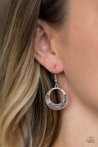 Socialite Luster - Silver Earrings