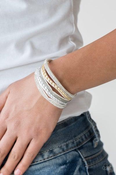 Fashion Fiend - White Snap Wrap