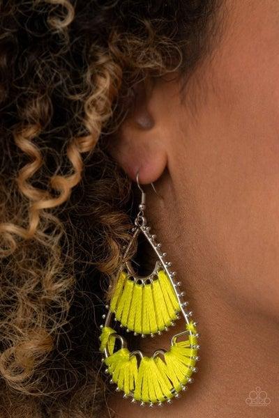 Samba Scene - Yellow Earrings