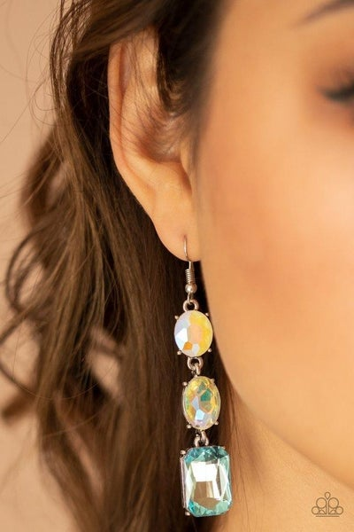 Dripping In Melodrama - Blue Earrings