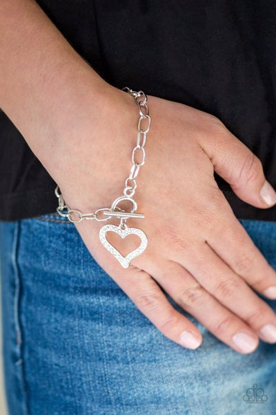 March to A Different Heartbeat - White Tiffany Bracelet