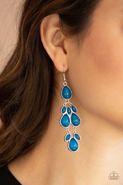 Superstar Social - Blue Earrings