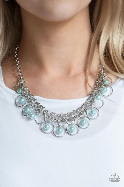 Party Time - Blue Necklace