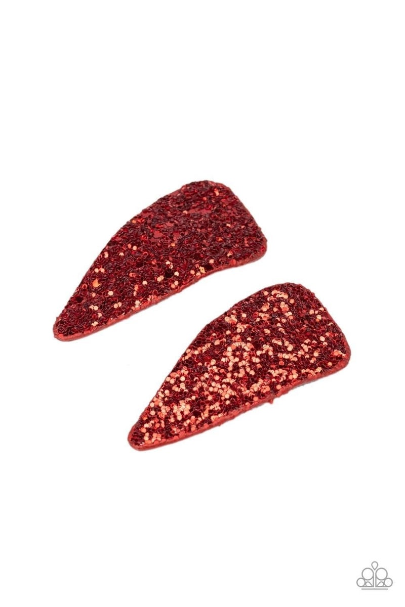 Squad Shimmer - Red Hair Clip