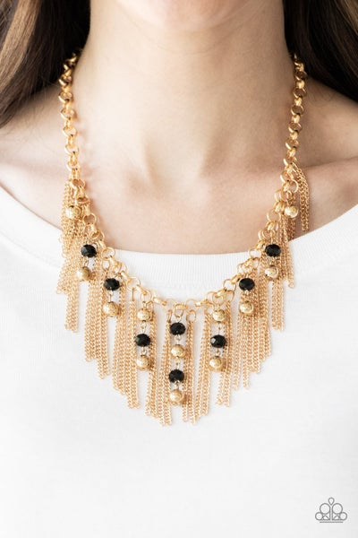 Ever Rebellious - Gold Necklace