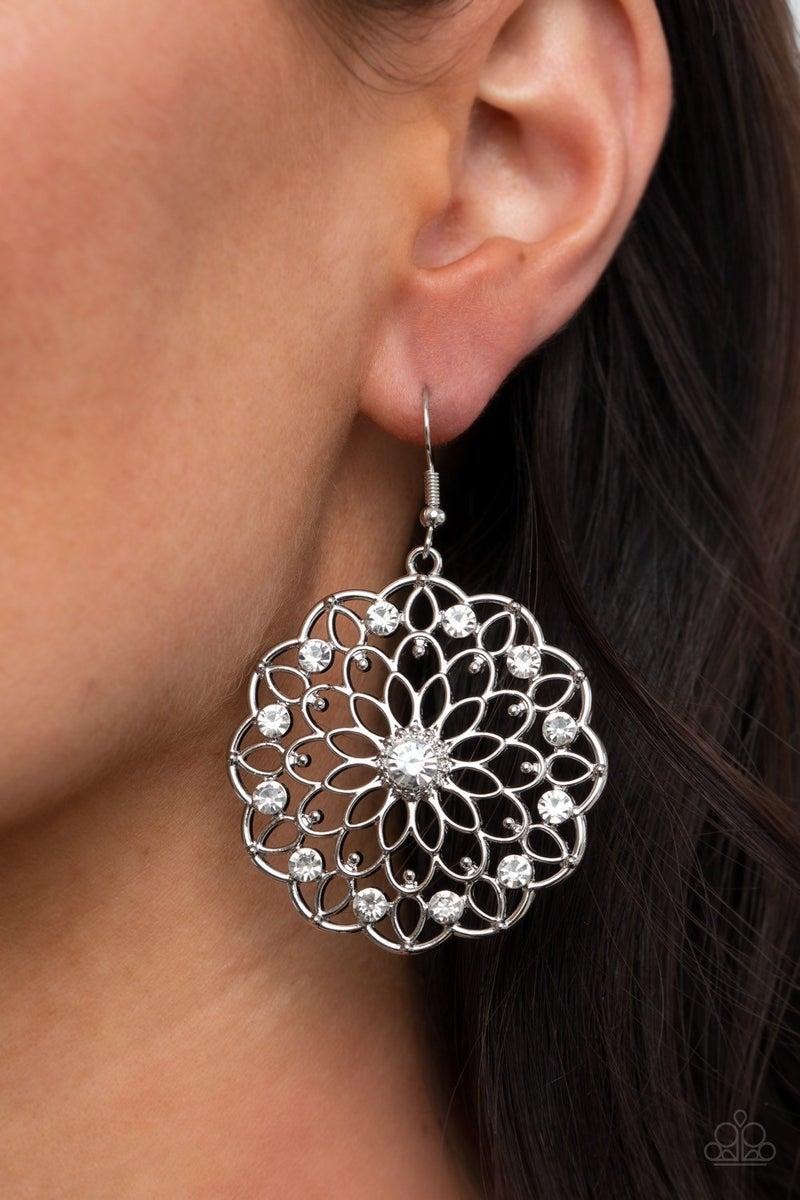 Posy Proposal - White Earrings