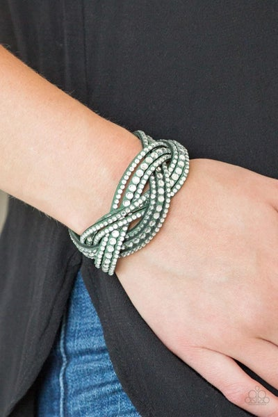 Bring On The Bling - Green Snap Wrap