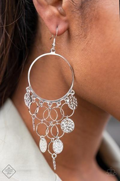 All CHIME High - Silver Earrings - February 2021 Fashion Fix