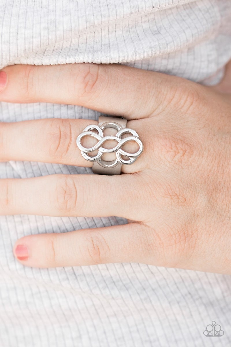 Breathe It All In - Silver Ring