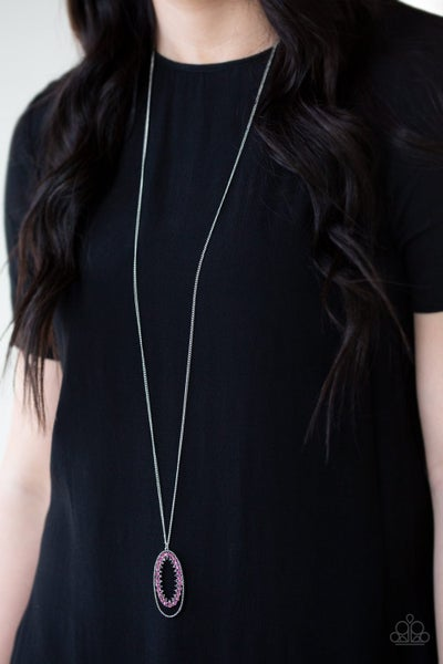 Money Mood - Pink Necklace