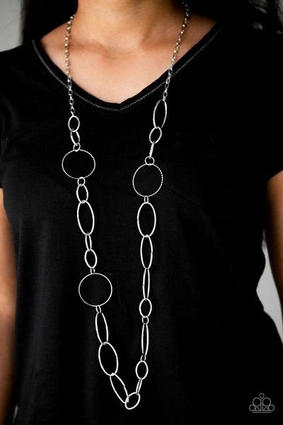 Perfect MISMATCH - Silver Necklace