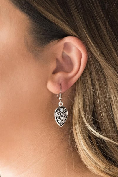 Distance PASTURE – Silver Earrings