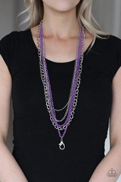 Industrial Vibrance - Purple Lanyard