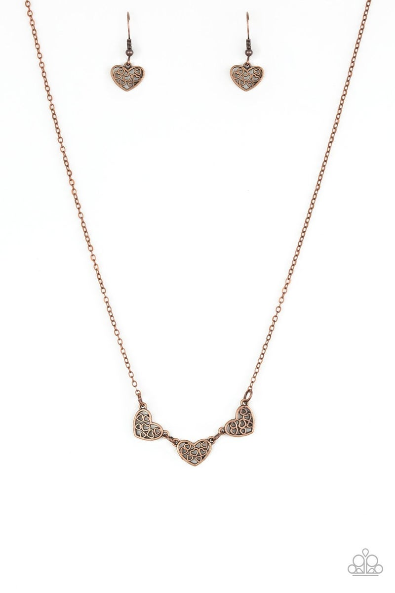 Another Love Story - Copper Necklace