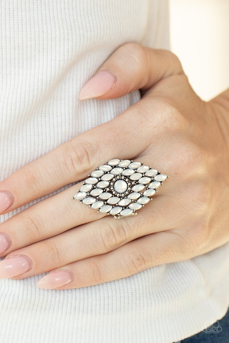 Incandescently Irresistible - White Ring - Life of the Party June 2021