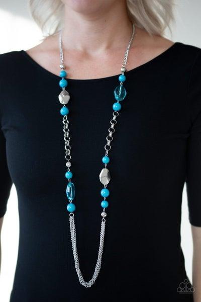Marina Majesty - Blue Necklace