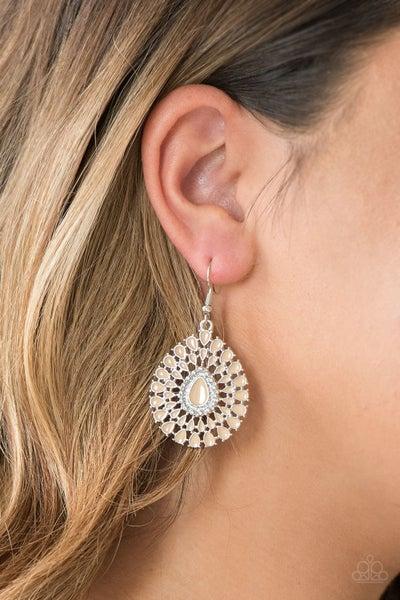 City Chateau - Brown Earrings