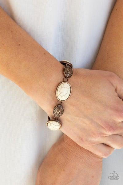 Cactus Country - Copper Clasp Bracelet