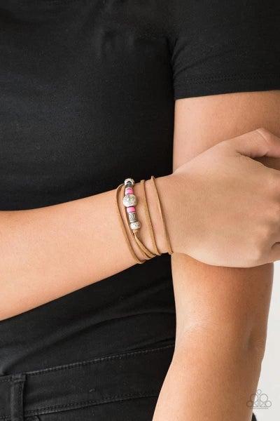 Find Your Way - Pink Bracelet