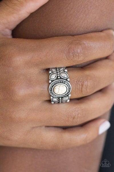 Butterfly Belle - White Ring