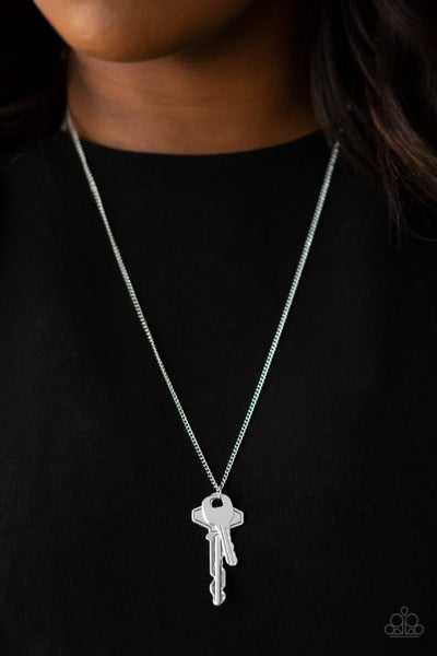 The Keynoter - Silver Necklace