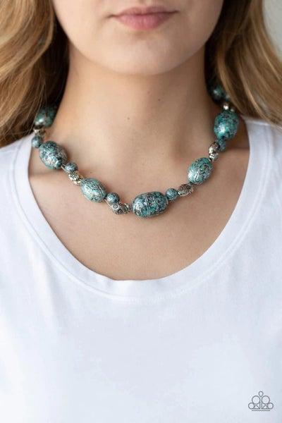 Gatherer Glamour - Blue Necklace
