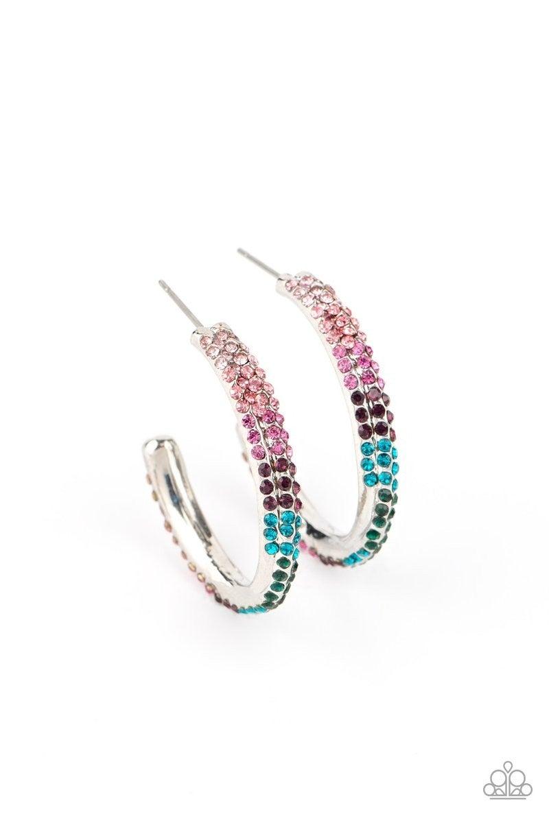 Trail of Twinkle - Multi Hoop Earrings