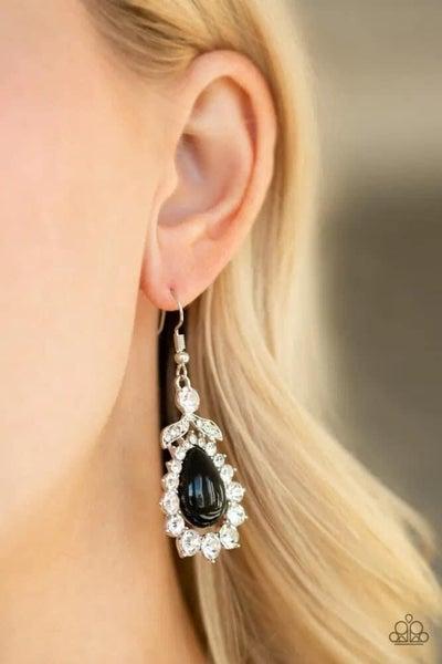 Award Winning Shimmer - Black Earrings