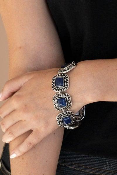 Dreamy Destinations - Blue Clasp Bracelet