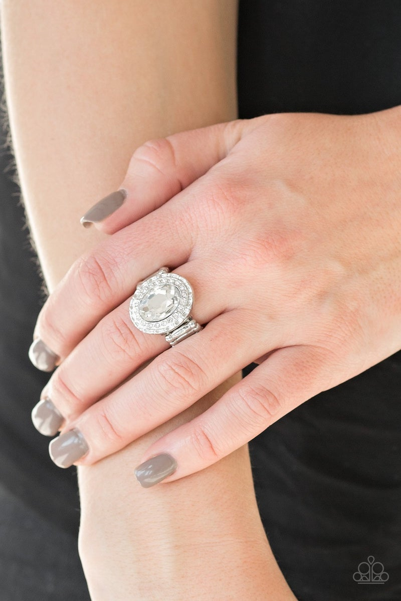 Fiercely Flawless - White Ring