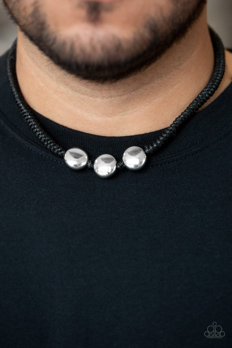 Pedal To The Metal - Black Urban Necklace