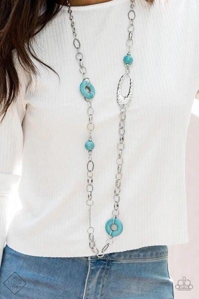 Artisan Artifact - Blue Necklace