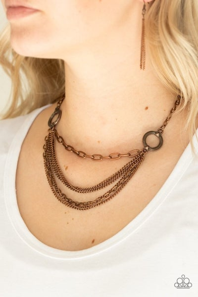 CHAINS of Command - Copper Necklace