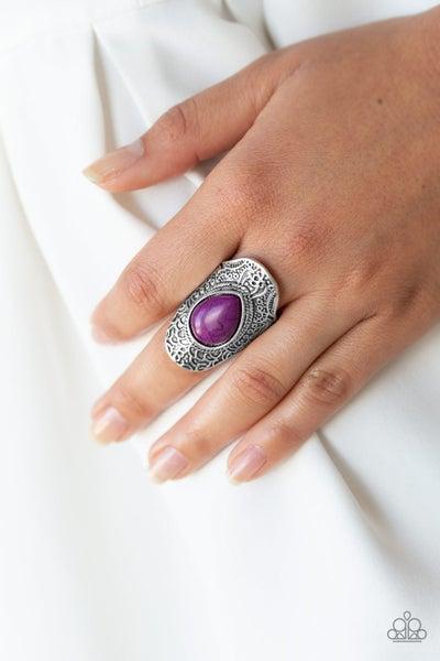 Southern Sage - Purple Ring