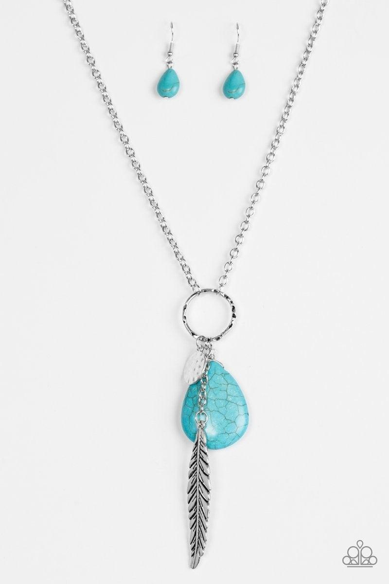 Canyon Quest - Blue Necklace