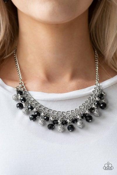 Party Spree - Black Necklace