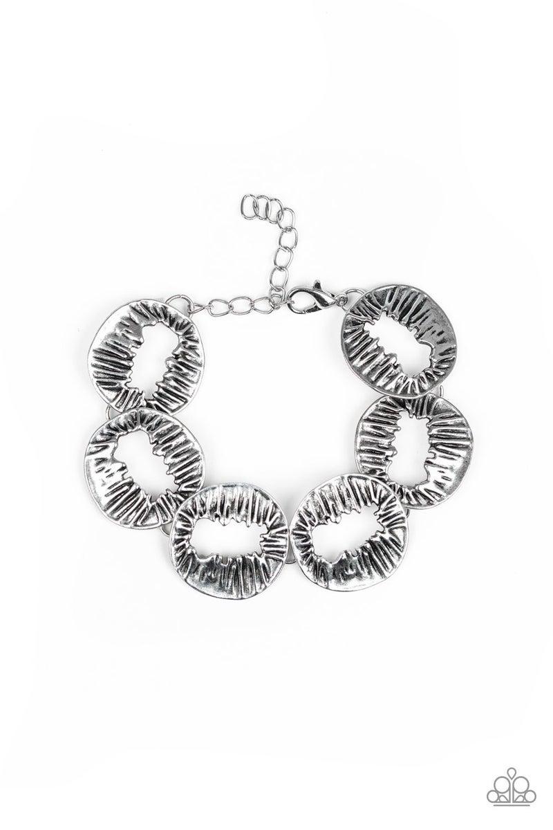Cut It Out! - Silver Clasp Bracelet
