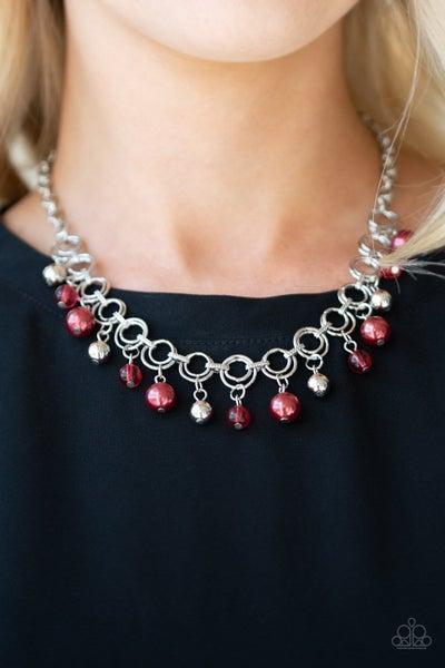 Fiercely Fancy - Red Necklace