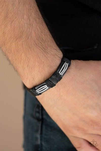 Industrial Interstate - Black Urban Bracelet