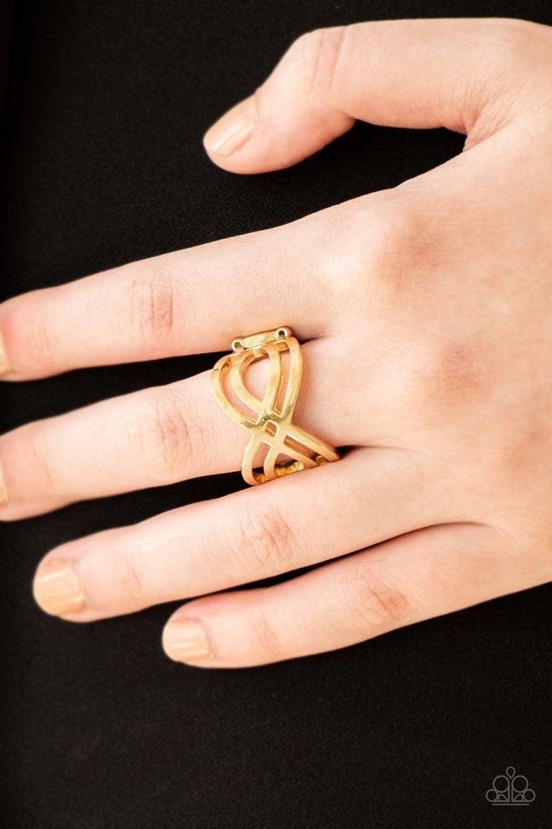 Infinite Fashion - Gold Ring