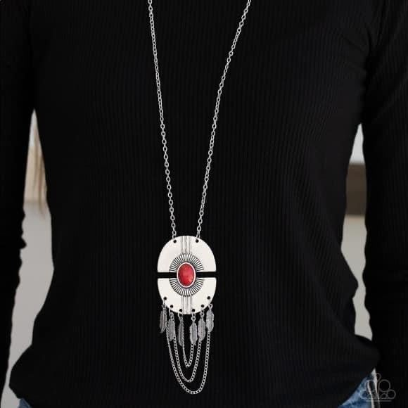 Desert Culture - Red Necklace