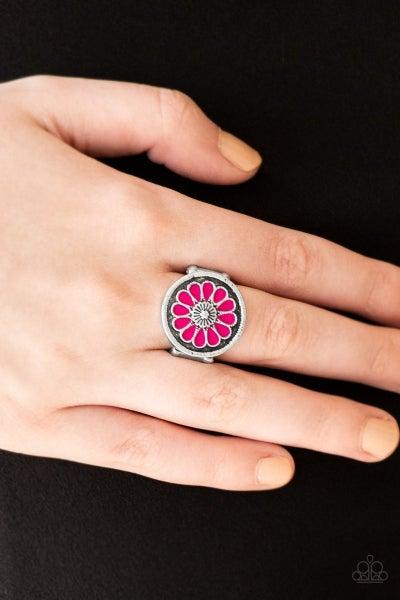 Garden View - Pink Ring