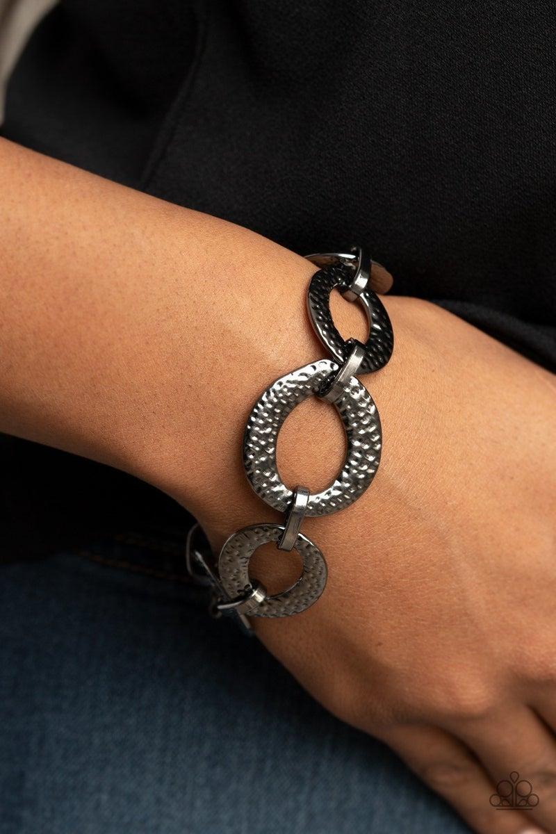 STEEL The Show - Gunmetal Clasp Bracelet